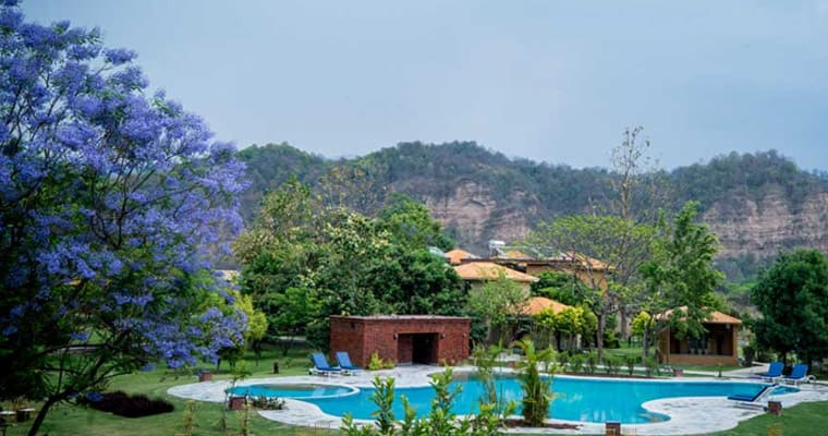 Resort in Jim Corbett
