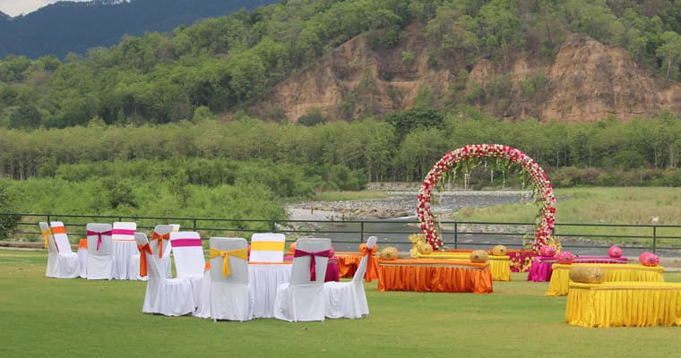 Wedding in Jim Corbett