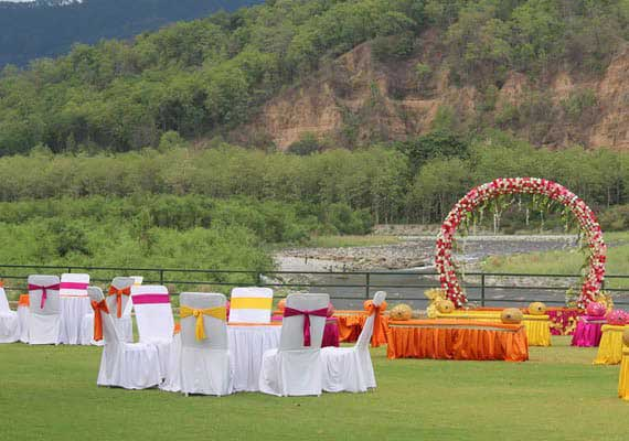 Destination Wedding in Corbett