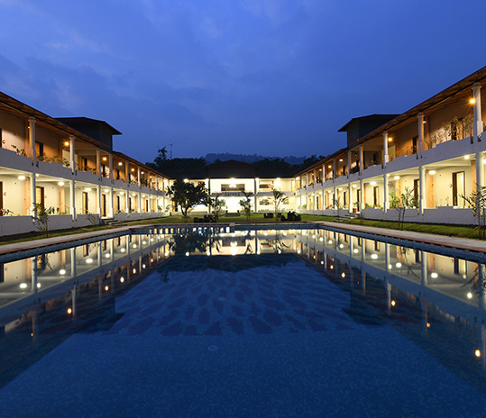 Swimming Pool in jim corbett